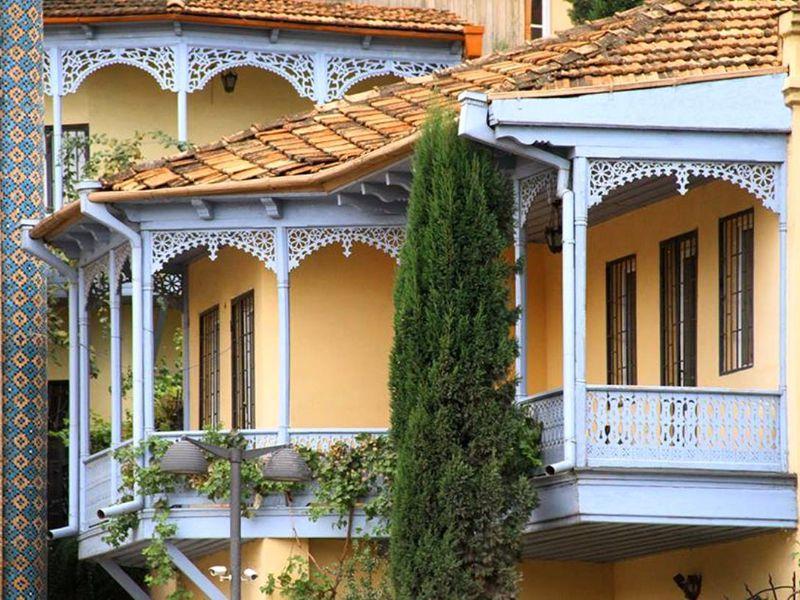Дом в грузинском стиле