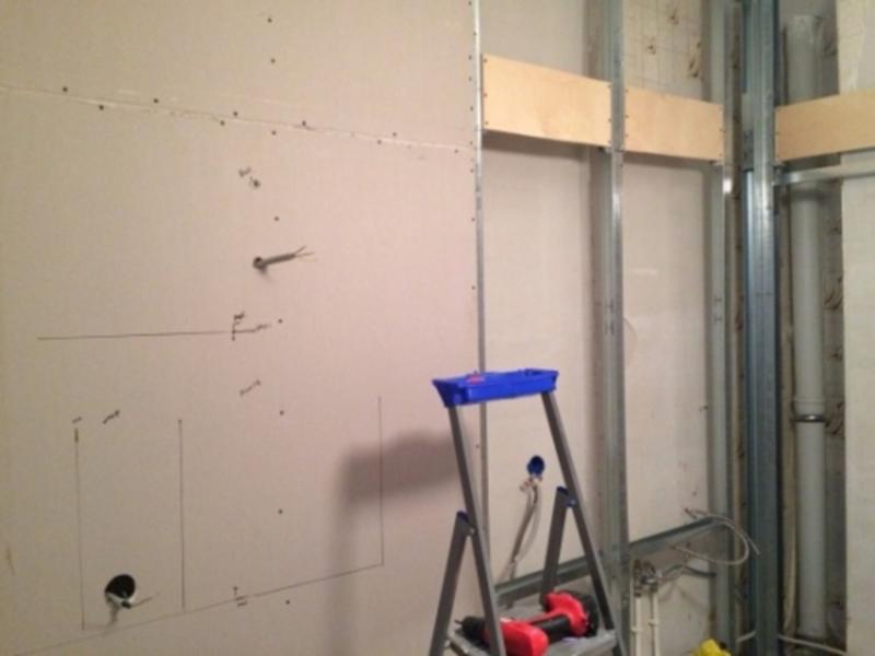 Ремонт квартиры. Как повесить что-то тяжелое на стену из ГКЛ